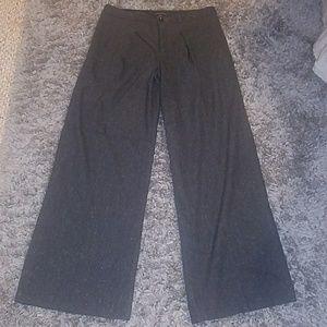 BR black speckled wool pants size 10